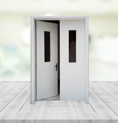 Sản xuất cửa chống cháy