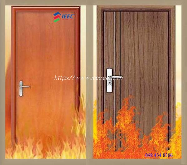 Cửa chống cháy đạt tiêu chuẩn PCCC