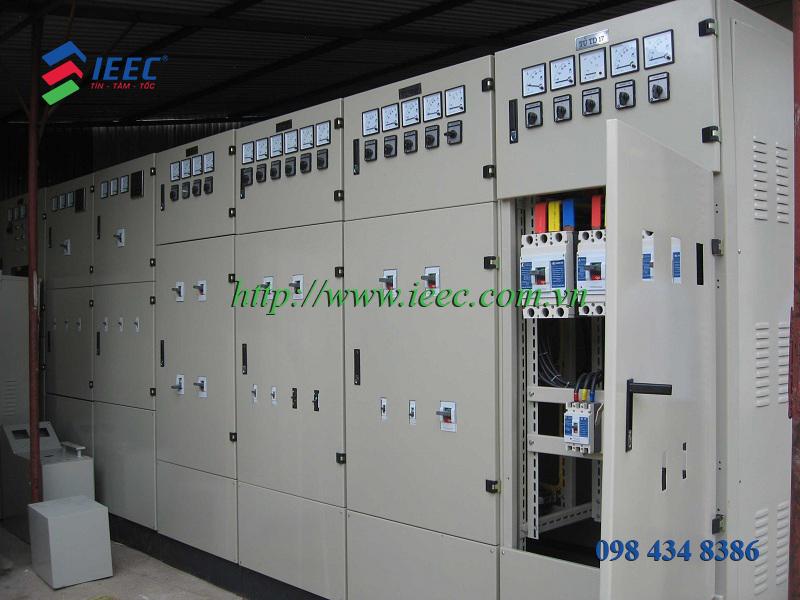 Tủ điện schneider được dùng trong các công trình công nghiệp