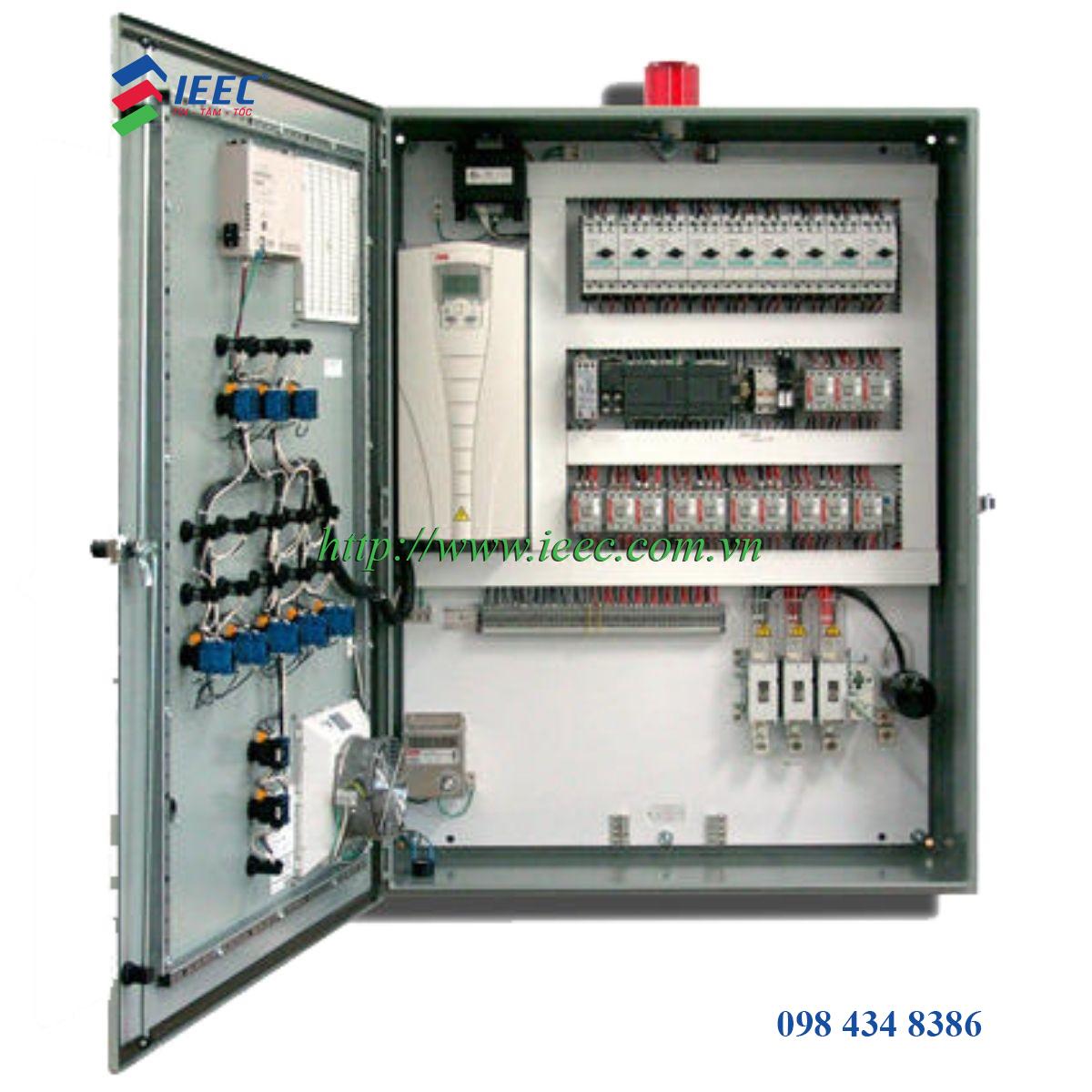 Cấu tạo của tủ điều khiển PLC